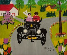 The small world and big influence of artist Maud Lewis - The Globe and Mail Maudie Movie, Artist Painting, Painting & Drawing, Maudie Lewis, Grandma Moses, Reading Art, Canadian Artists, Female Art, Art Museum