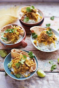 """The latest installment from the Jamie Oliver empire, """"Save with Jamie' has given us a great cheap alternative to a take away with a lovely beef rendang recipe! Jamie's Recipes, Curry Recipes, Indian Food Recipes, Asian Recipes, Cooking Recipes, Healthy Recipes, Nigella, Save With Jamie Recipes, Salads"""