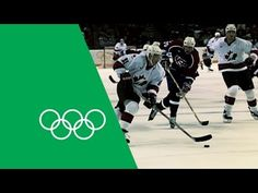 ▶ Canada v USA - Highest Scoring Game In Men's Ice Hockey | Olympic Rewind - YouTube