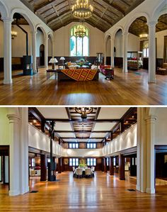 Marc would flip over this converted church/house