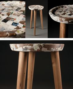 Müll - Stools and More from Recycled Plastic Trash by Carter Zufelt