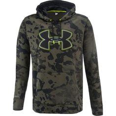 Under Armour® Men's Fleece Storm Printed Big Logo Hoodie
