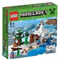 LEGO Minecraft 21120 De Sneeuwschuilplaats -  Koppen.com
