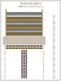 Semne Cusute: iie din BASARABIA - model (20)