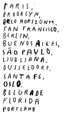 let's go! And add Barcelona, Mumbai, Mexico City, London, Los Angeles,.........on and on and on