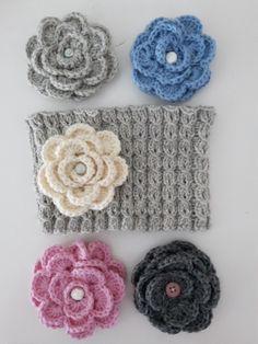 Alvariina : Ohje: Neulottu panta ja virkattu kukkanen Crochet Flowers, Crochet Earrings, Knitting, Sewing, Jewelry, Helsinki, Dressmaking, Jewlery, Tricot