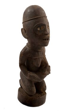 Old African Statue African Wood Carvings, African Artwork, African Sculptures, Art Africain, Beautiful Mask, African Masks, African American Art, Ivory Coast, Tribal Art