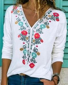 Shirts & Tops, Casual T Shirts, Casual Tops, Shirt Blouses, Buy Shirts, Blouse Jaune, Pulls, Types Of Sleeves, Short Sleeves