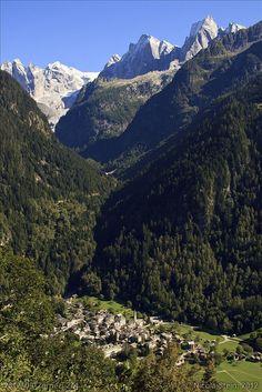 Soglio in Graubünden, Switzerland