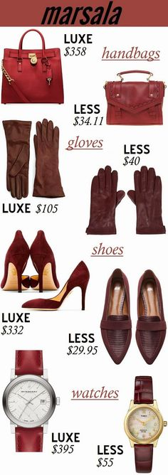 Oh to Be a Muse | Bay Area Fashion Blogger Inspiring Style: Inspiring Style: Pantone's #Marsala