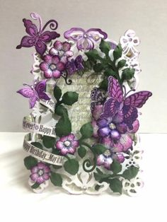 Butterflies and Flowers Garden by Itsapassion - Cards and Paper Crafts at Splitcoaststampers