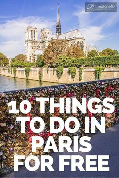 Not only are there many things to do in Paris that are free, they are actually some of the most famous sites in the entire city. What we love about Paris is that the architecture and history is so rich and interesting, that you dont have to spend a penny