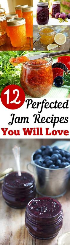 12 Perfected Jam Recipes you Will Love – Kolay yemek Tarifleri Salsa Dulce, Cuisine Diverse, Jelly Recipes, Yummy Recipes, Healthy Recipes, Homemade Jam Recipes, Jam And Jelly, Canning Recipes, Canning Tips