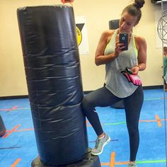 My friend dragged me to #cardiokickboxing class this morning .... I almost died #lol but I liked it!!!! #seriously #imoutofshape #americanblackbeltacademy #longisland #needtodomorecardio #sweatedmyassoff #itwasintense #fitness #kickboxing #cardio #fun #friends #fitmom #fitcop #fitlife #workout #behappy #everlast #punch #kick #abs #progressnotperfection #makeitfun #nopressure #picoftheday by dbella_fitness_