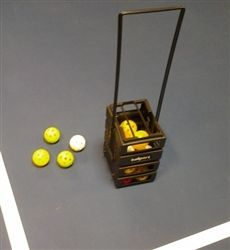 Quickly and easily pick up those pickleballs with the ball-port (modified specifically for pickleballs). $24.99