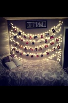 Love this idea for a college room