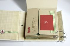 "Hobby di Carta - Il blog: Mini album: ""December Weekly"" by Silva"