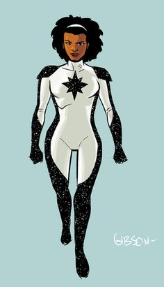 Monica Rambeau a.k.a Captain Marvel redesign
