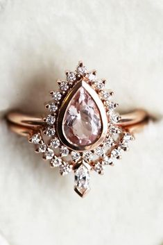 24 Gorgeous Colored Engagement Rings