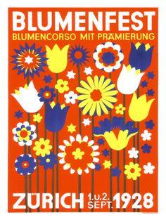 Bloomfest Zurique - 1928