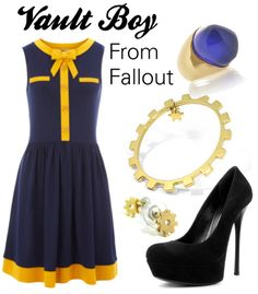 Vault GIRL cosplay dress