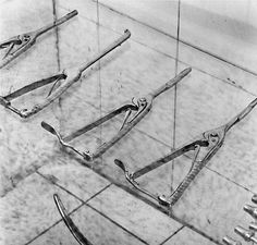 Michael Kenna : Surgical Instruments, Study 2, Sachsenhausen, Germany, 2000