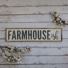 Farmhouseish Sign Farmhouse Style Decor Modern Farmhouse Decor Rustic Farmhouse Decor Farmhouse - March 03 2019 at Wood Kitchen Signs, Farmhouse Kitchen Signs, Rustic Kitchen Decor, Modern Farmhouse Decor, Farmhouse Style Decorating, Rustic Decor, Kitchen Ideas, Rustic Style, Country Kitchen