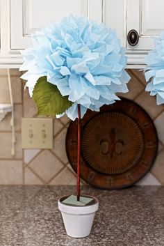 This week, I was asked to create a centerpiece for an upcoming bridal shower. The party needed to be done a budget, so my goal to w...