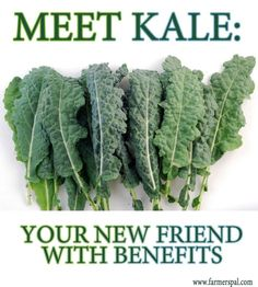 Kale is far more nutritious than other leafy greens, but these seven reasons why it is such an important futurefood may just surprise you.