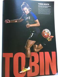 Tobin Heath 07.09.16! Gosh I love her legs!
