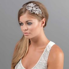 Love these side tiaras!