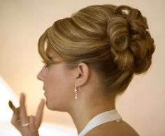 bridal hair updos with veil - Google Search