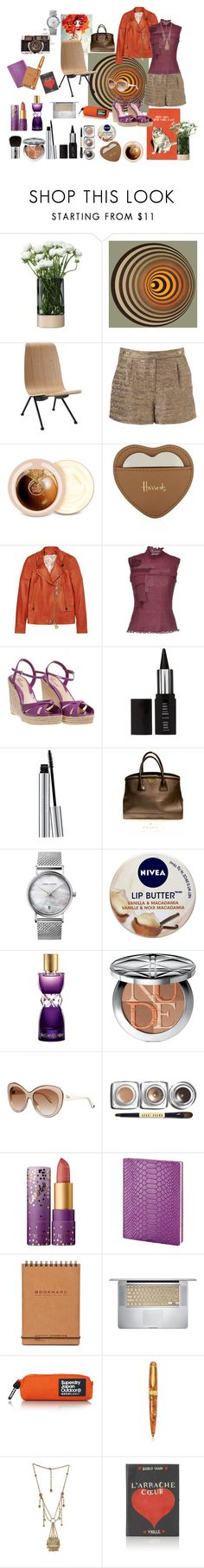 """""""Purple and orange"""" by nathalie-puex ❤ liked on Polyvore featuring LSA International, Jonathan Adler, Steel 