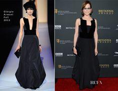 Sigourney Weaver In Giorgio Armani – BAFTA Los Angeles Britannia Awards 2013