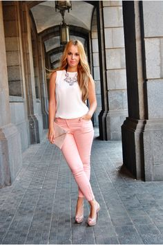 Light-pink-blanco-bag-bubble-gum-h-m-pants-bubble-gum-zara-necklace