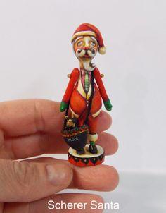 Scherer Santa Claus Miniature