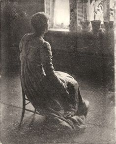 Woman seen from behind, ca. 1900 • Clarence Hudson White