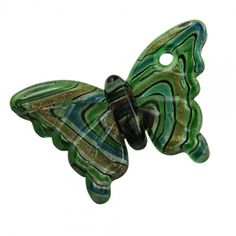 New Item! 3 Pieces Swirled Glass Green Butterfly Pendants - just $5 start bid in the Supplies with a Surprise LIVE Tophatter.com auction, starting at 1a.m. EST. Come join the fun of live bidding:  http://tophatter.com/auctions/16049?campaign=all=internal