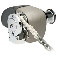 The Amazing Quality 'Maxwell HRC Rope Chain Horizontal Windlass Chain, Rope with Capstan', Silver Anchor Systems, Rope Chain, Two By Two, Silver, Boats, Plait, Handle, Products, Consumer Electronics