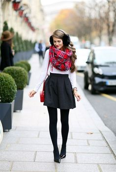 007970e22 40 Attractive Winter Party Outfits For Girls (Fashion 2015)