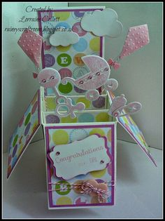 baby box card | Found on raineyscraftroom.blogspot.co.uk