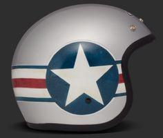 DMD Vintage Helm - Kleiner Jethelm mit ECE Norm