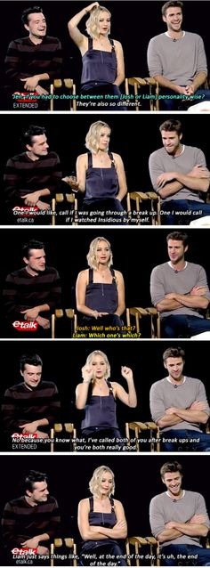 Jennifer Lawrence, Josh Hutcherson, And Liam Hemsworth Prove True Friendship Love Exists