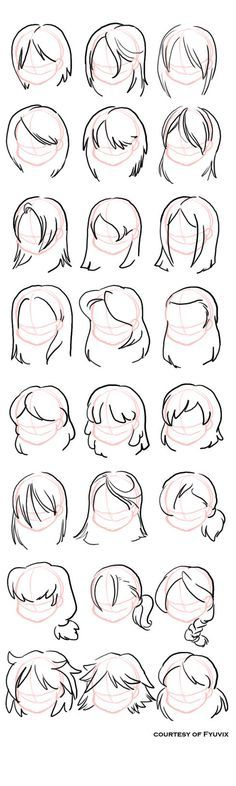 Hairstyles- straight by =fyuvix: design reference, drawing reference, hair reference, Drawing Lessons, Drawing Techniques, Drawing Tips, Drawing Ideas, Drawing Art, Drawing Style, Drawing Poses, Sketch Drawing, Drawing Projects