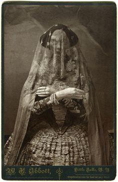 Cabinet Cards / Storydress II, Albumen Print Photographs of Life-size Paper Mache and Plaster Sculpture, Christine Elfman, 2008