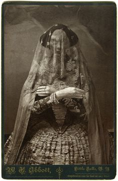 Cabinet Cards / Storydress II, Albumen Print Photographs of Life-size Paper Mache and Plaster Sculpture, Christine Elfman, 2008