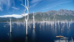 Tasmania's Lake Gordon
