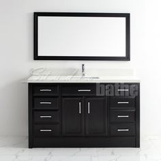 Calais 60 Pepper Gray Stuffed Peppers Grey Double Vanity