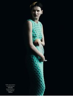 AnOther Magazine S/S12 Photographyby Julia Hetta, styling by Cathy Edwards