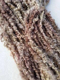 Bulky teeswater hand spun yarn by Pinki Punki